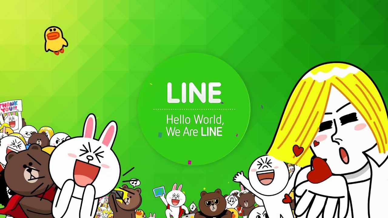 we are line